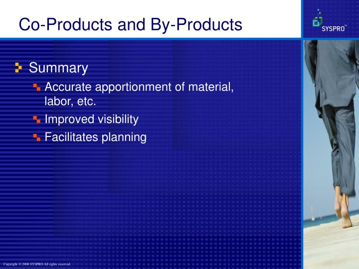 Co-Products and By-Products