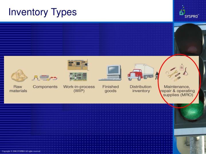 Inventory Types