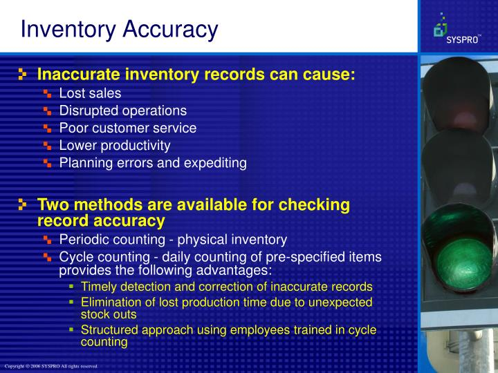 Inventory Accuracy