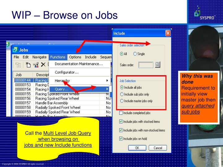 WIP – Browse on Jobs