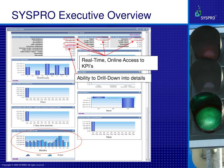 Real-Time, Online Access to KPI's