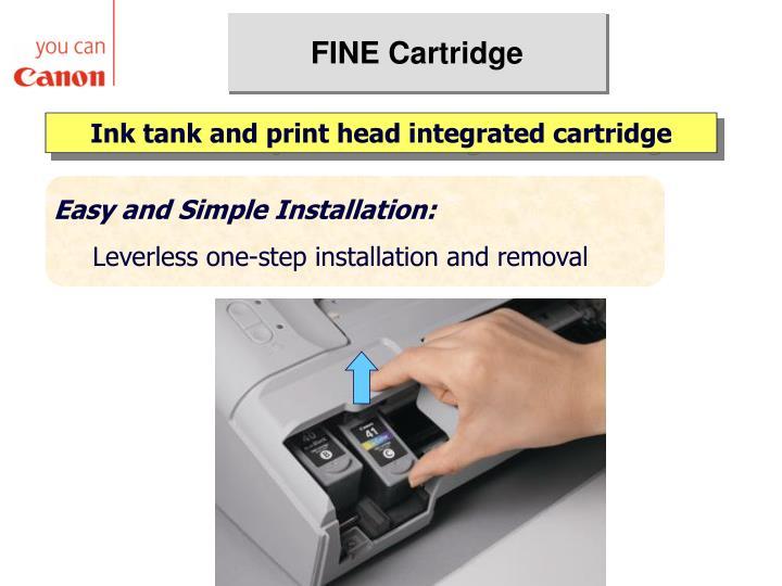 FINE Cartridge