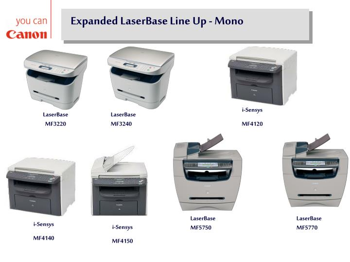 LaserBase MF3220