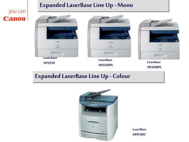 Expanded LaserBase Line Up - Mono