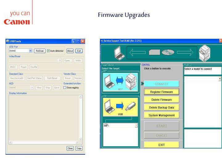 Firmware Upgrades