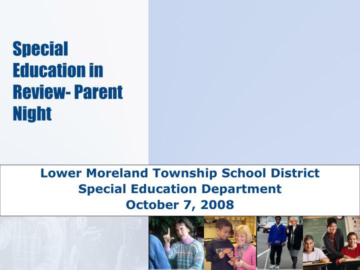 lower moreland township school district special education department october 7 2008 n.