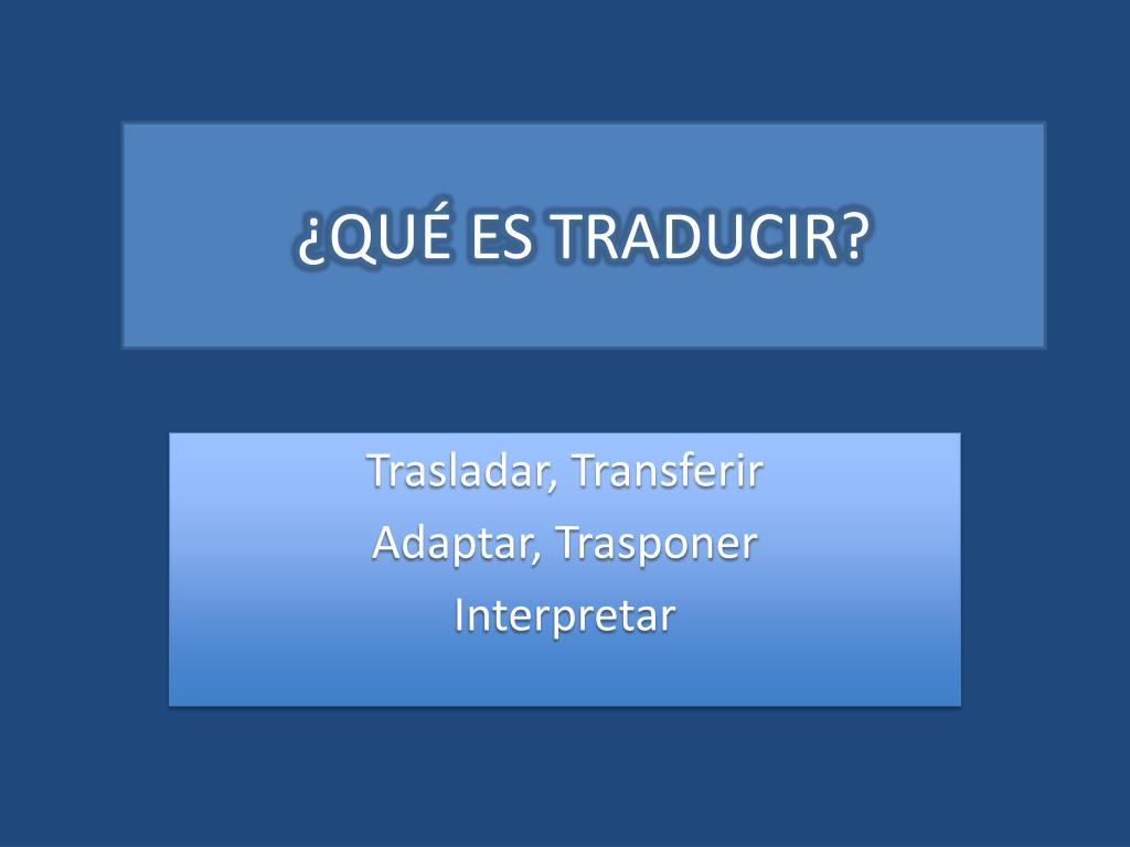 Cómo traducir un powerpoint de forma automática.