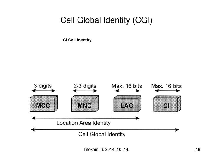 Cell Global Identity (CGI)