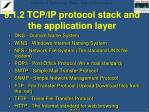 9 1 2 tcp ip protocol stack and the application layer