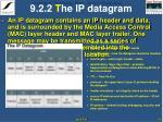 9 2 2 t he ip datagram