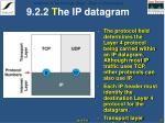 9 2 2 t he ip datagram1