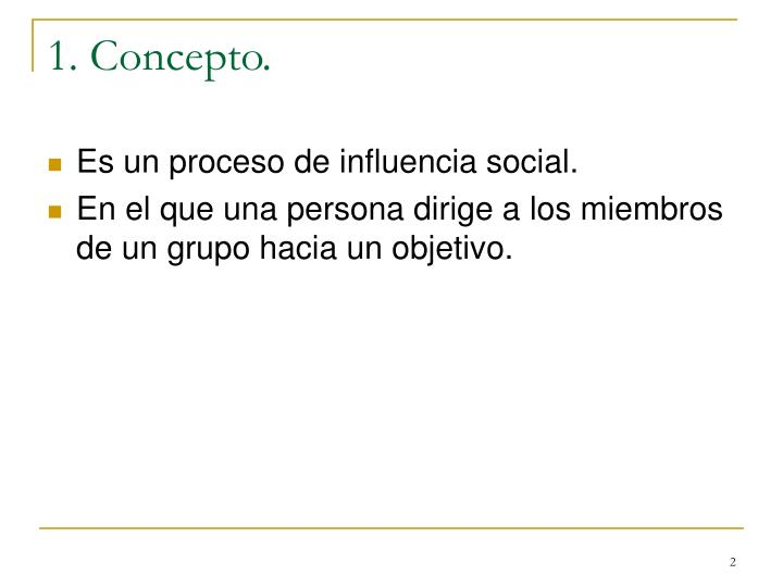 1 concepto