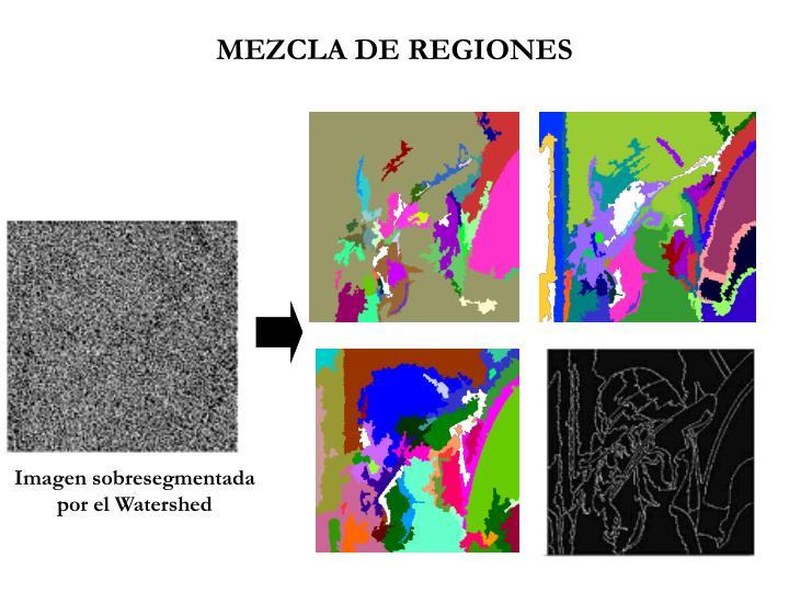 MEZCLA DE REGIONES