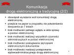 komunikacja drog elektroniczn a tradycyjn 2 2