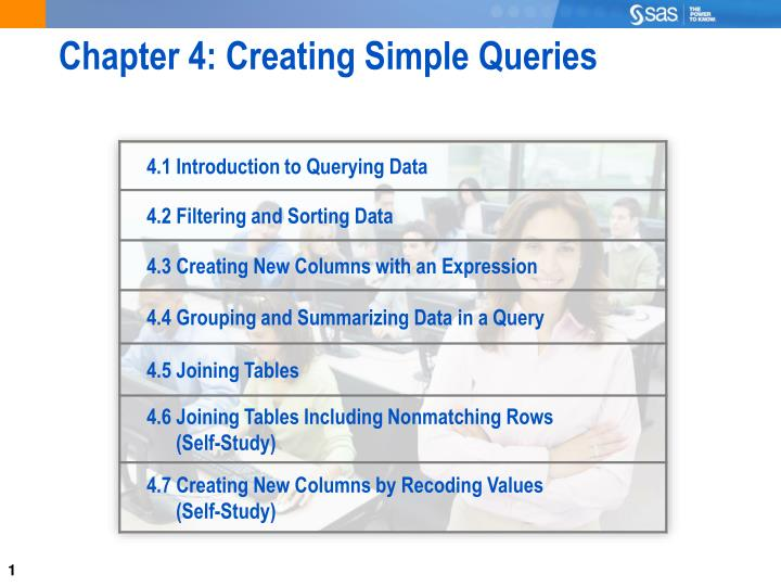 chapter 4 creating simple queries n.