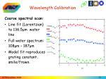 wavelength calibration1