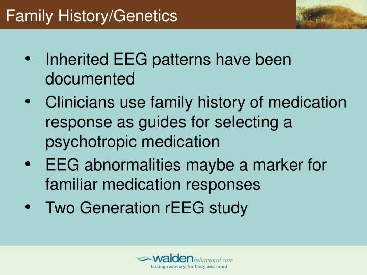 Family History/Genetics