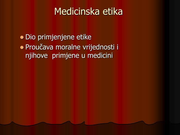 Medicinska etika1