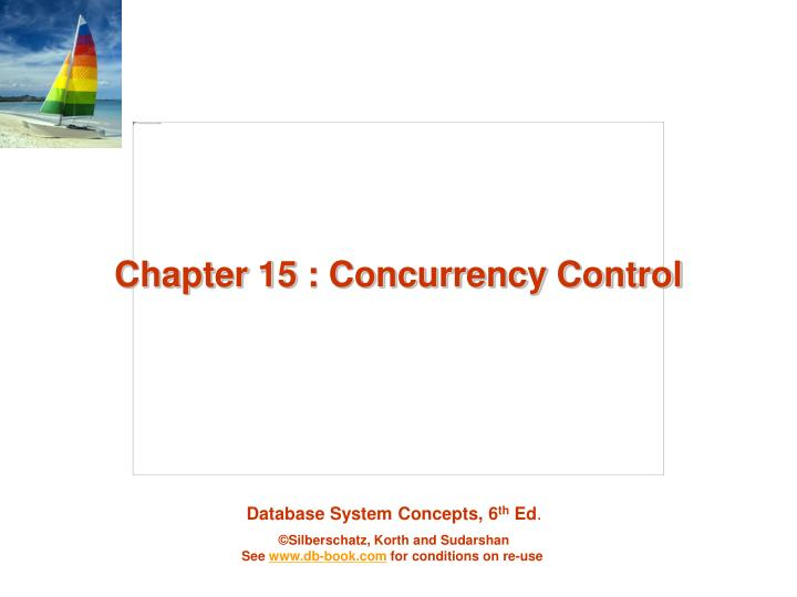 chapter 15 concurrency control n.