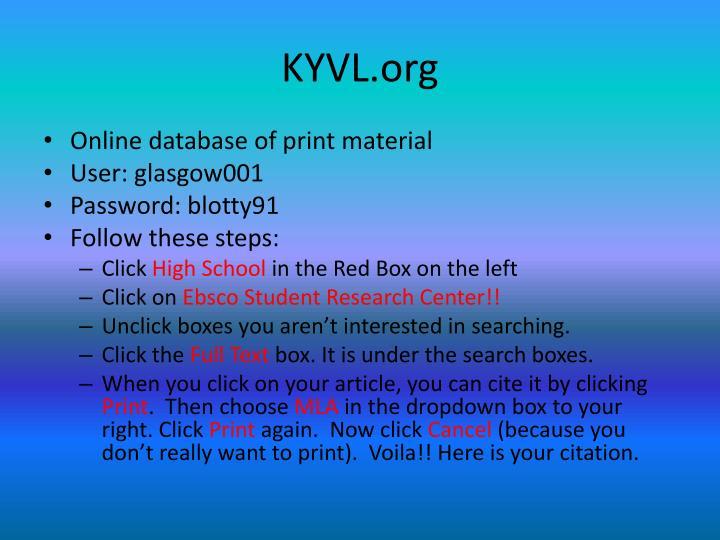 KYVL.org