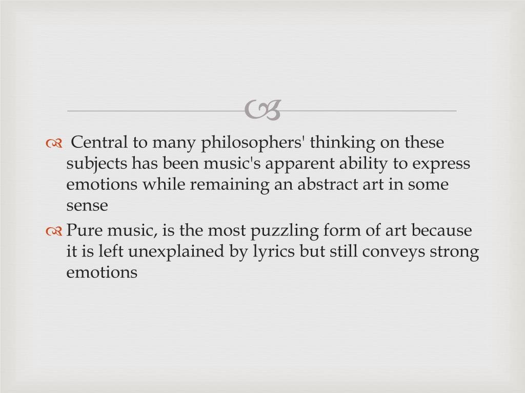 PPT - Philosophy of Music PowerPoint Presentation - ID:6157092