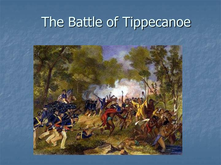 the battle of tippecanoe n.