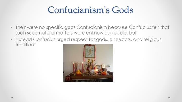 Confucianism s gods