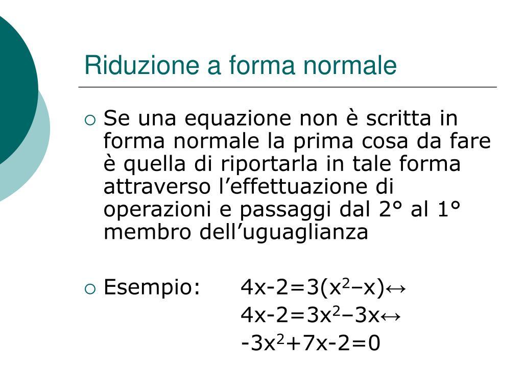 PPT - Equazioni di 2° grado PowerPoint Presentation, free..