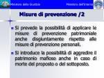 misure di prevenzione 2