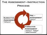the assessment instruction process
