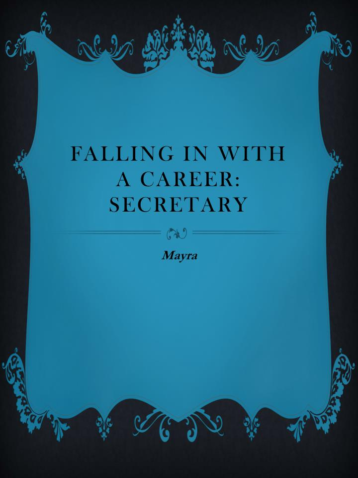 falling in with a career secretary n.