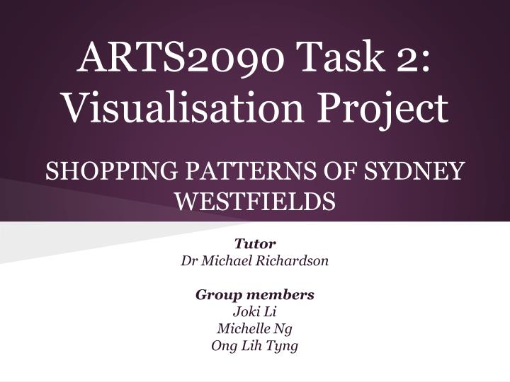 arts2090 task 2 visualisation project n.
