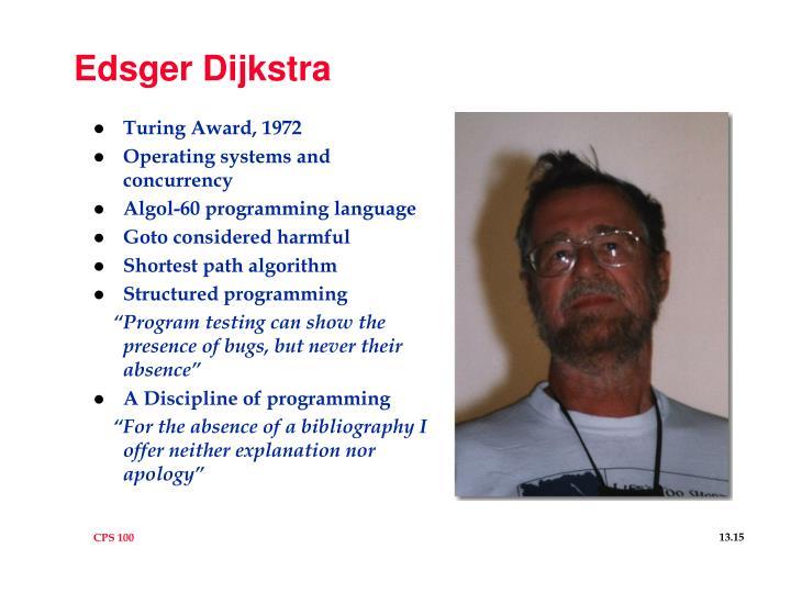 Edsger Dijkstra