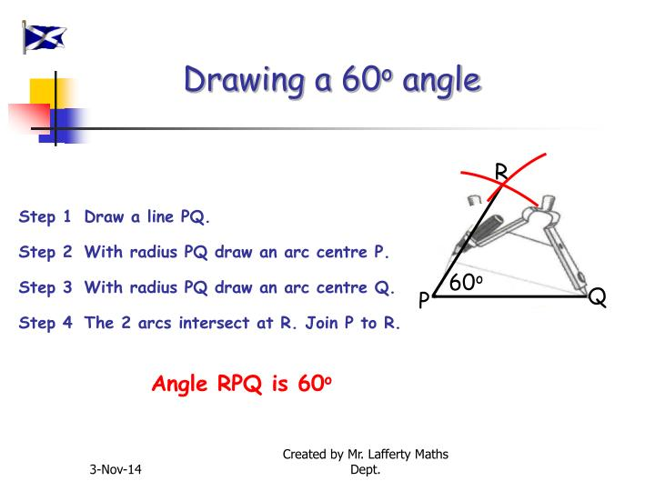 Drawing a 60