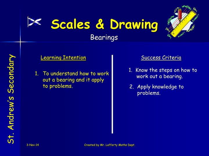 Scales & Drawing