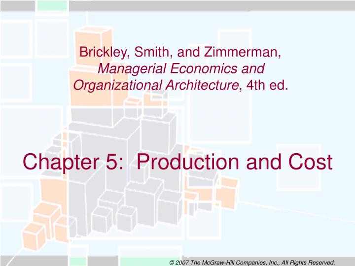 chapter 5 production and cost n.