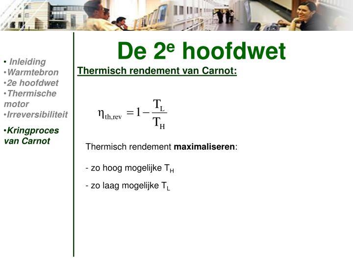 Thermisch rendement