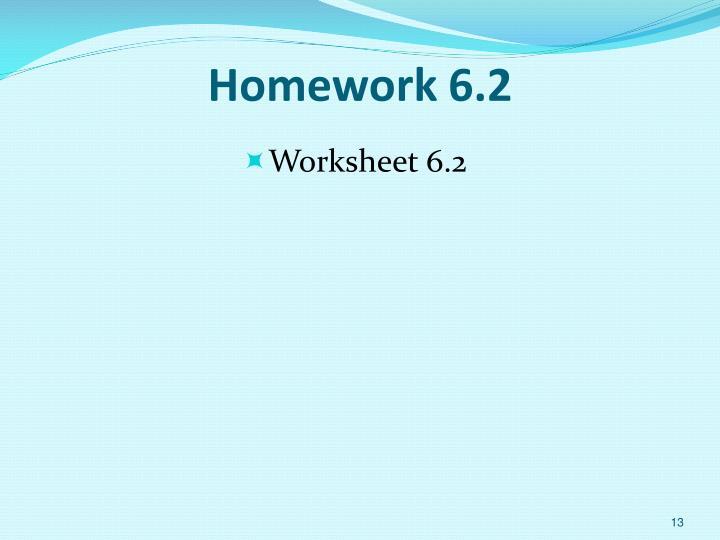 Homework 6.2