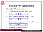 dynamic programming7