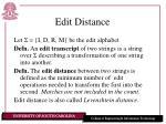 edit distance2