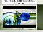 the finishrich file folder system