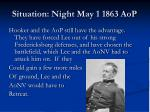 situation night may 1 1863 aop