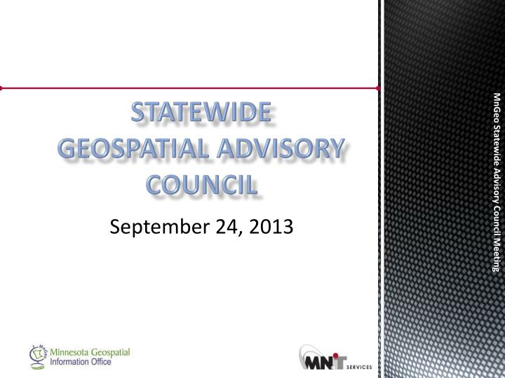statewide geospatial advisory council n.