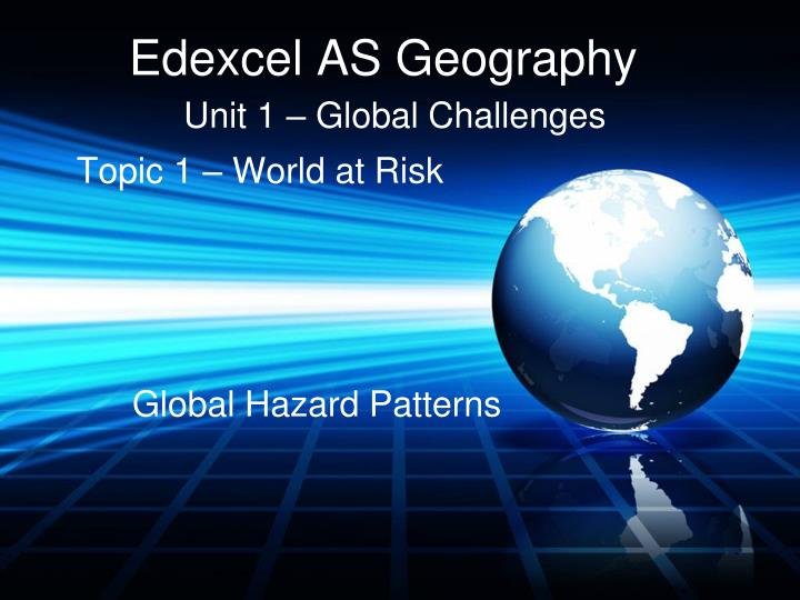 edexcel as geography n.
