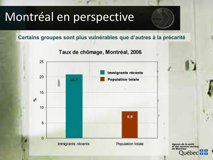 Montréal en perspective