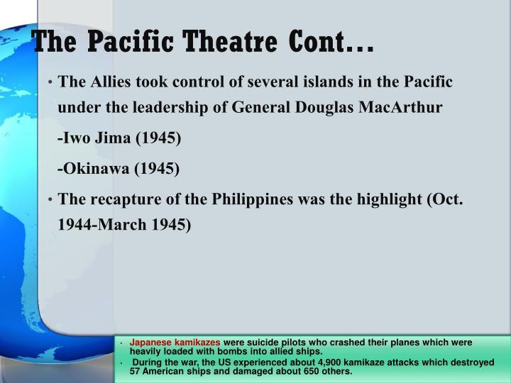 The Pacific Theatre Cont…