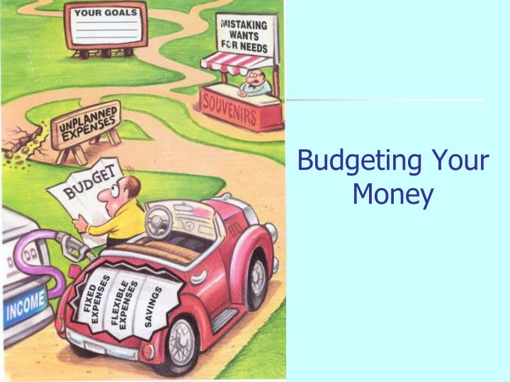 budgeting your money n.