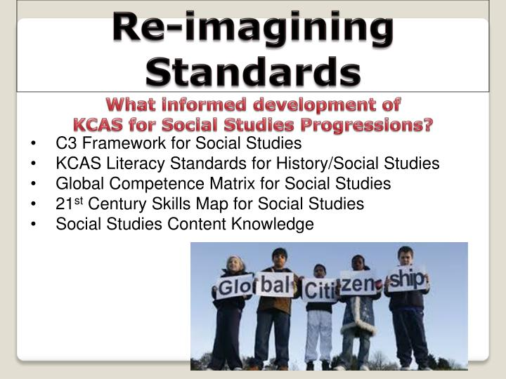 Re-imagining Standards