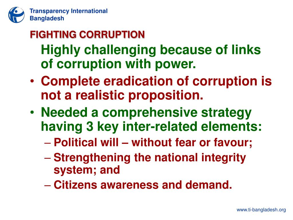 PPT - ROLE OF CITIZENS IN ADDRESSING CORRUPTION IN