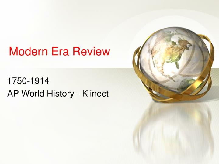 modern era review n.